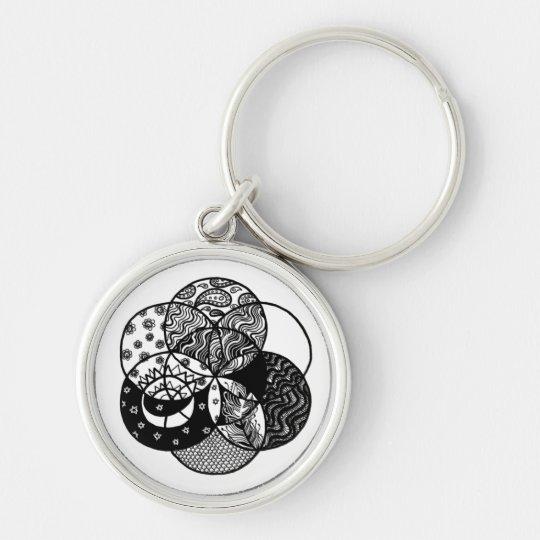 Seed of Life Mandala Premium Keychain