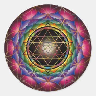 Seed of Life Mandala Stickers