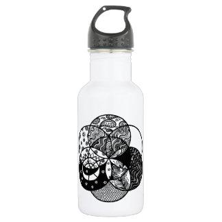 Seed of Life Mandala Water Bottle