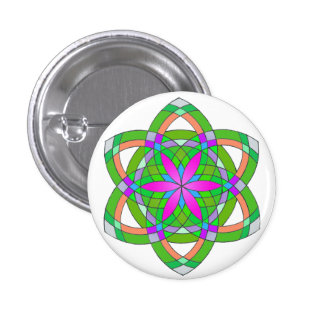 Seed of life pinback buttons