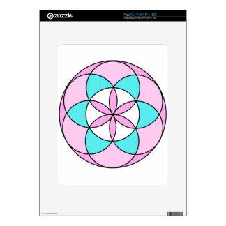 Seed of Life Pink iPad Skins
