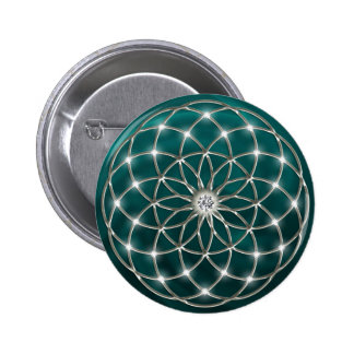 Seed OF life - tube torus - Flower OF life Button