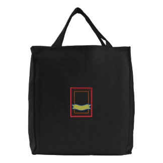 Seed Packet Applique Embroidered Tote Bag