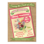 Seed Packet Baby Shower Invitations