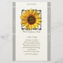 Seed Packet Template Wedding Favor