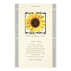 Seed Packet Template Wedding Favor Stationery at Zazzle