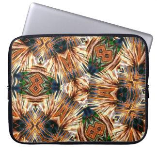 Seed Pod Kaleidoscope Laptop Sleeve