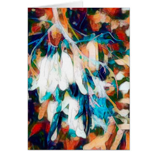 Seed Pods - Art Greeting Card