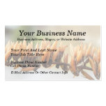 Seed Pods - Butterfly Bush Business Card Template