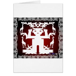 SEED SPIRITS GIRAFE CUSTOMIZABLE PRODUCTS GREETING CARD