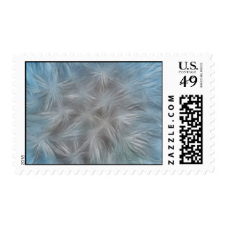 Seeded Dandelion Abstract Postage Stamp
