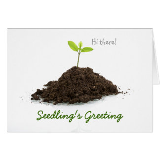 Seedling's Greeting Card
