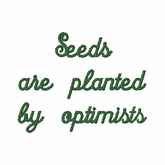 Seeds Are Planted by Optimists Polo Shirt