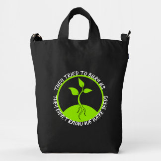 Seeds Canvas Bag