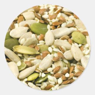 seeds classic round sticker
