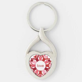 Seeds Heart Keychain
