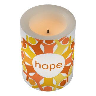 Seeds Hope LED Candle