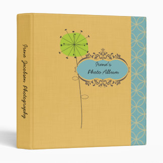 Seeds in the Wind Personalized Photo Binder