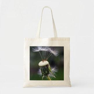 seeds, nature, spring, flower, dandelion seeds, cl tote bag