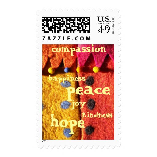 Seeds of Compassion Stamp