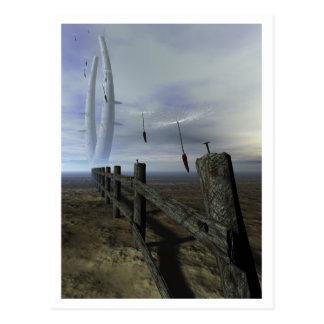 Seeds of Doom Postcard