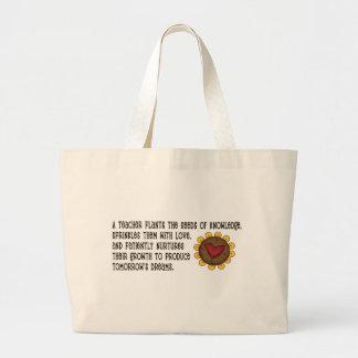 Seeds of Knowledge Teacher Tote Bag