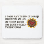 Seeds of Knowledge Teacher Mouse Mat