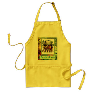 Seeds of love adult apron