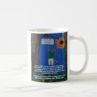 """Seeds of Peace Mural"" mug"