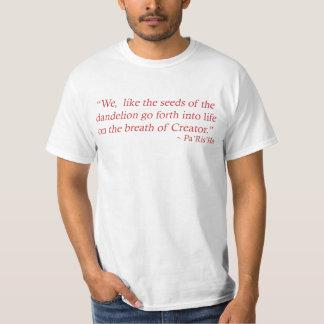 Seeds of the Dandelion Quote Men's T-Shirt