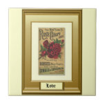 Seeds of the Past; Roses Tile