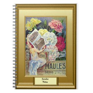 Seeds of time, Garden notes, Carnations Spiral Notebook
