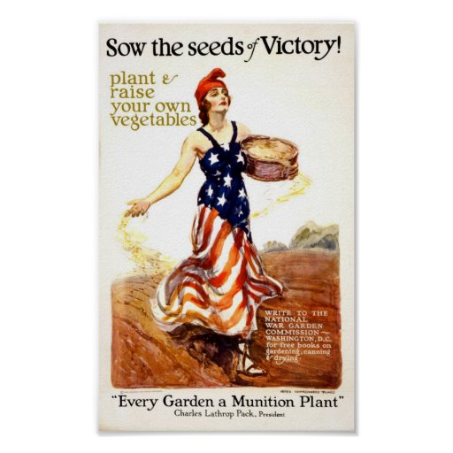 Seeds of Victory Print