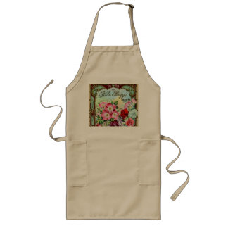 Seeds Plants and Bulbs Vintage Catalog Cover Long Apron