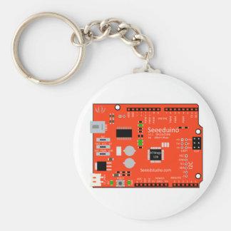 Seeeduino the alternate Arduino Basic Round Button Keychain