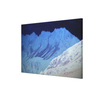 Seefeld mountains gallery wrap canvas
