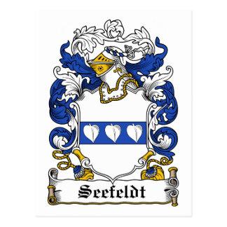 Seefeldt Family Crest Postcard
