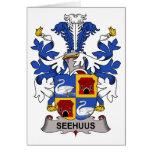 Seehuus Family Crest Card