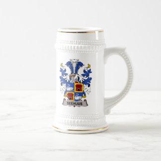 Seehuus Family Crest Coffee Mugs