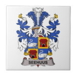 Seehuus Family Crest Tiles