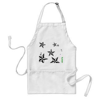 Seein' stars apron
