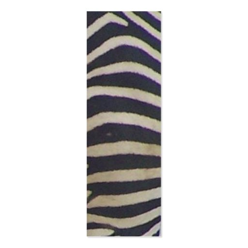 Seein' Stripes Bookmark Double-Sided Mini Business Cards (Pack Of 20)