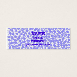 Seeing Bubbles - Skinny Mini Business Card