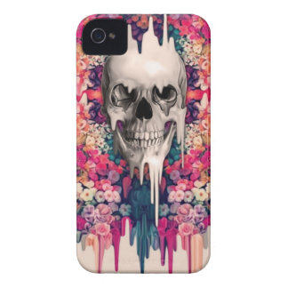 Seeing Color Melting Sugar Skull iPhone 4 Cover