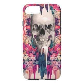 Seeing Color Melting Sugar Skull iPhone 8/7 Case