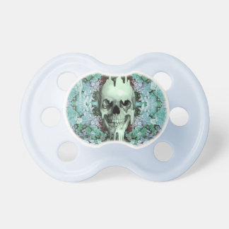 Seeing Color Melting Sugar Skull Pacifiers