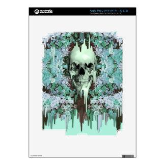 Seeing Color Melting Sugar Skull Skin For iPad 3