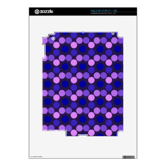 Seeing Dots Purple and Pink iPAD 2 Skin