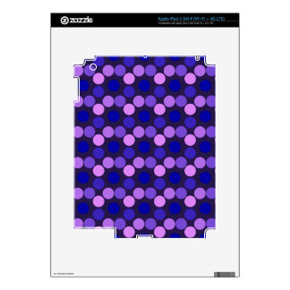 Seeing Dots Purple and Pink iPad 3 Skin