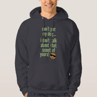 Seeing Eye Guide Dog Owner with fun attitude! Hoodie